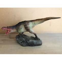 T-Rex grün-grau, Dinosaurier Modell