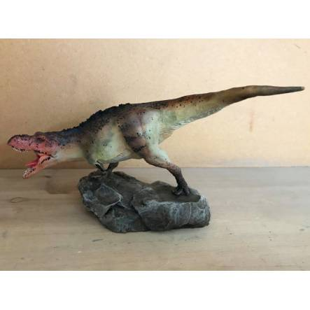 T-Rex braun-weiß, Dinosaurier Modell