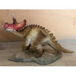 Triceratops brown, Dinosaur Model