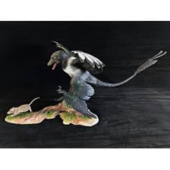 Microraptor hunting Eomaia, Diorama Magpie