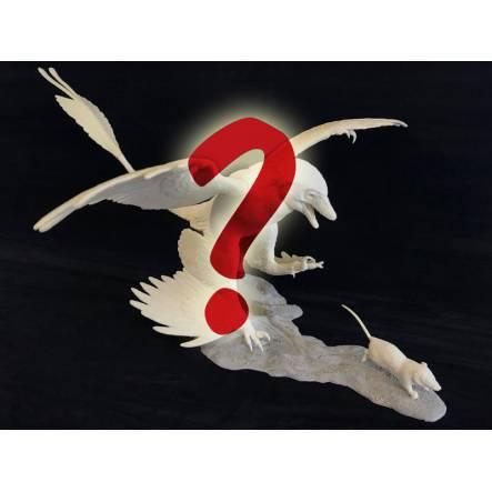 Microraptor jagt Eomaia, eigener Farbwunsch