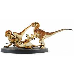 Crash McCreery's Baby Raptors, Jurassic Park Dinosaur Diorama by Chronicle Collectibles