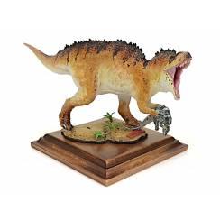 Acrocanthosaurus mit Beute, Dinosaurier Modell von Alexander Belov
