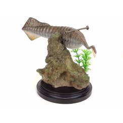 Tullimonstrum, Modell von Vitali Klatt - Felsen