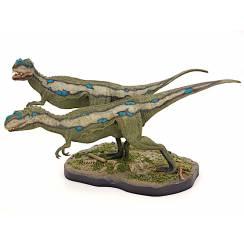 Metriacanthosaurus Paar, Dinosaurier Modell von Bob Morales