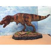 T-Rex, The Tyrant King, Dinosaurier Modell von Sideshow Collectibles - Repaint braun