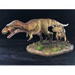 Daspletosaurus Duo, Dinosaurier Diorama von Shane Foulkes