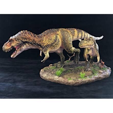 Daspletosaurus Duo, Dinosaur Model by Shane Foulkes