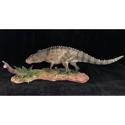Postosuchus, Archosaurier Modell, grau-braun