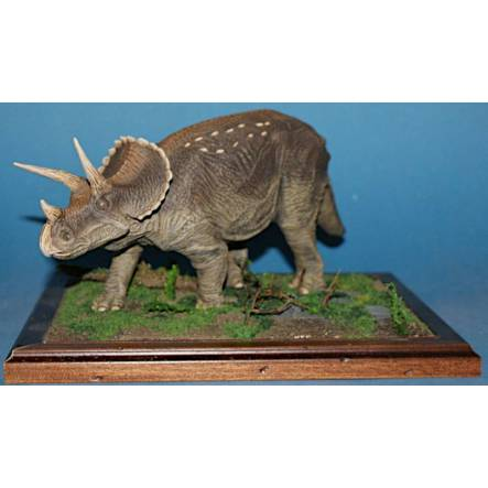 Triceratops with Juvenile, Dinosaur Model by Kaiyodo
