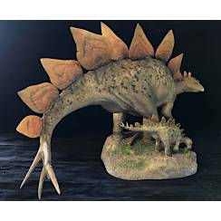 Stegosaurus, Dinosaurier Modell Sideshow Collectibles - Repaint
