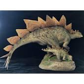 Stegosaurus, Dinosaur Model Sideshow Collectibles - Repaint