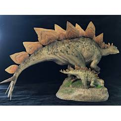 Stegosaurus, Dinosaur Model Sideshow Collectibles - Repaint