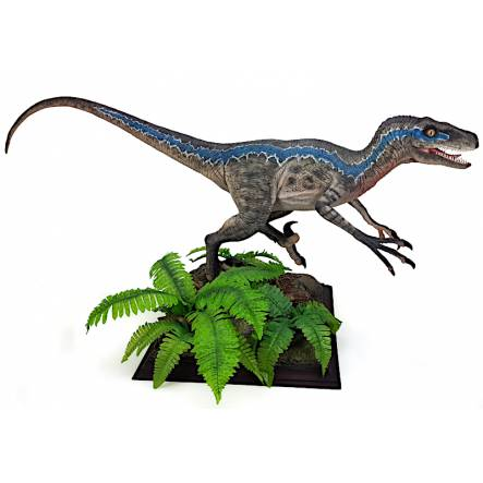 Velociraptor Blue, Dinosaur Model by Galileo Hernandez