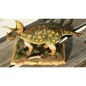 Triceratops speckled, Dinosaur Model by Kaiyodo