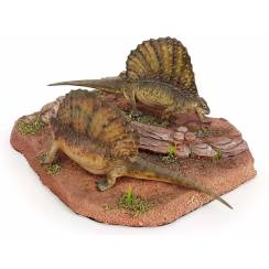 Edaphosaurus-Pair, Model by Galileo Hernandez