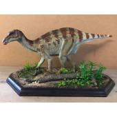 Iguanodon gestreift, Dinosaurier Modell - Repaint