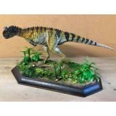 Carnotaurus gestreift, Dinosaurier Modell - Repaint
