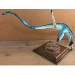 Elasmosaurus light blue, Marine Reptile Model by Alexander Belov