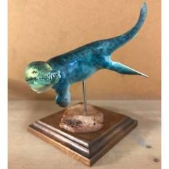 Kronosaurus green, Marine Reptile Model