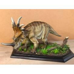 Styracosaurus brown, Dinosaur Model - Repaint