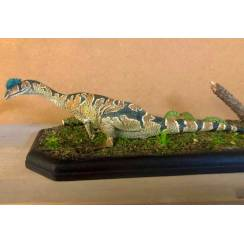 Dilophosaurus patterned, Dinosaur Model - Repaint