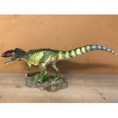 Giganotosaurus grün, Dinosaurier Modell von Sean Cooper