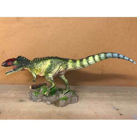 Giganotosaurus green, Dinosaur Model by Sean Cooper
