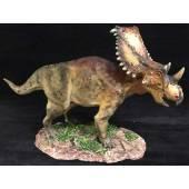 Chasmosaurus braun, Dinosaurier Modell von Sean Cooper