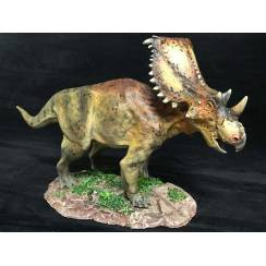 Chasmosaurus braun, Dinosaurier Modell