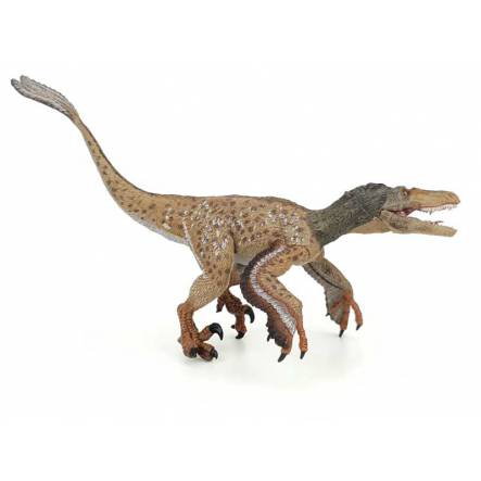 Velociraptor feathered, Dinosaur Figure by Papo