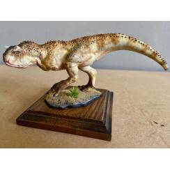 Carnotaurus light brown, Dinosaur Model by Alexander Belov