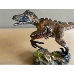 Utahraptor 'Wind Hunter', Dinosaur Model by Rebor - Repaint - Mouth open