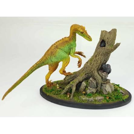 Velociraptor, Dinosaurier Modell von Kaiyodo