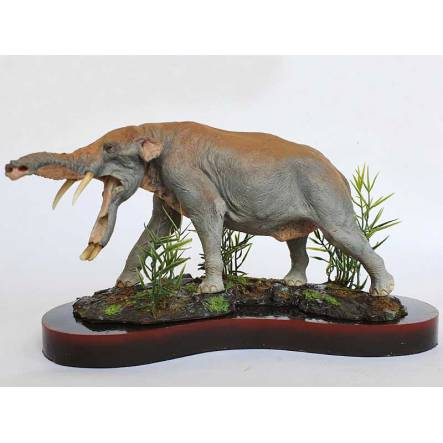 Platybelodon - outstretched trunk, Model by Sean Cooper