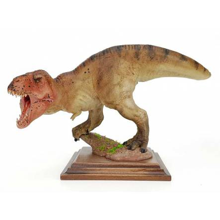 T. rex redhead, Dinosaur Model by Alexander Belov