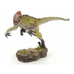 Utahraptor 'Wind Hunter', Dinosaurier Modell von Rebor - Repaint - Maul zu