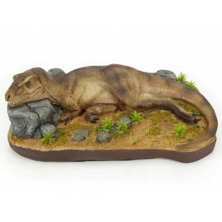 T. Rex sleeping, Dinosaur Model by Galileo Hernandez