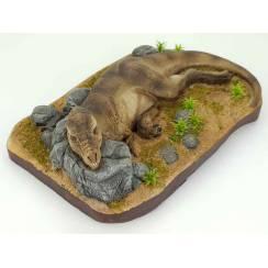 T-Rex schlafend, Dinosaurier Modell von Galileo Hernandez