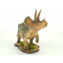 Triceratops grau-grün, Dinosaurier Modell