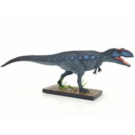 Giganotosaurus, Dinosaur Figure by EoFauna - Repaint - Blue Grey