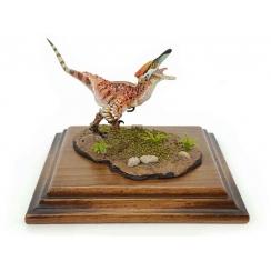 Austroraptor reddish, Dinosaur Model by Alexander Belov