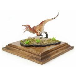 Austroraptor Rotschopf, Dinosaurier Modell von Alexander Belov