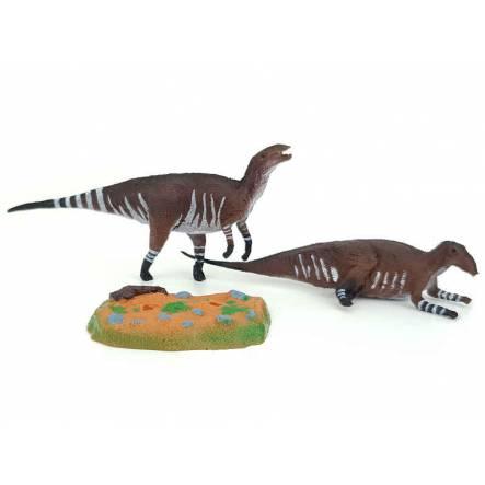 Tethyshadros Paar, Dinosaurier Spielzeug von Wild Past
