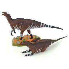 Tethyshadros Pair, Dinosaur Toy Figure by Wild Past