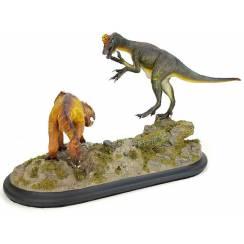 Oviraptor vs. Protoceratops, Dinosaur Model