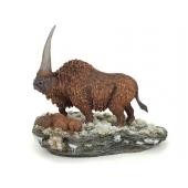 Elasmotherium mit Kalb, Ur-Nashorn Modell von M.Sée