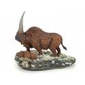 Elasmotherium with Calf, prehistoric Rhinoceros by M.Sée