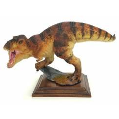 T-Rex braun, Dinosaurier Modell von Alexander Belov