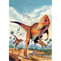 Saltriosaurus, Dinosaurier Poster von Fabio Pastori